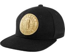 Cap gold / schwarz