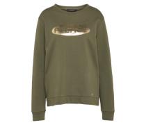 Sweater gold / oliv