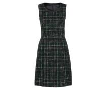 Bouclé-Kleid mischfarben / schwarz