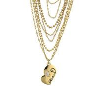 Halskette aus Metall Ubn80914 gold