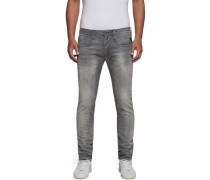 Slim-fit-Jeans »Anbass« grey denim