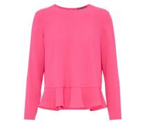 Peplum Bluse pink