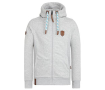 Zipped Jacket 'Birol Jeck V' grau