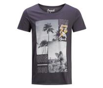 Grafik T-Shirt dunkelgrau