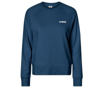 Sweater 'Vmd O-Neck' blau