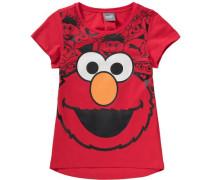T-Shirt 'Sesamstraße' orange / rot / schwarz / weiß