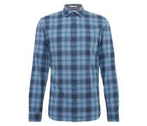 Karriertes Hemd blau / dunkelblau