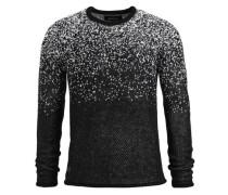 Pullover 'neal' schwarz / weiß