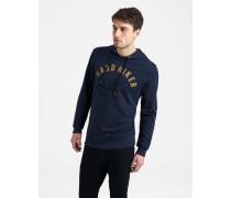 Sweatshirt Kapuzen blau