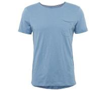 T-Shirt Basic T-Shirt mit Brusttasche