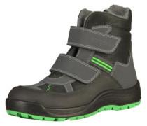 Stiefel grau / grün