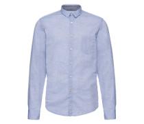 Freizeithemd 'Erum 10203142 01' blau
