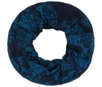 Multifunktionstuch blau