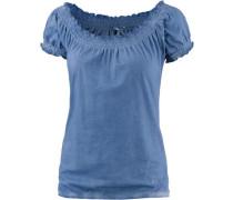 T-Shirt Damen royalblau