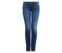 Superslim: Jeans mit Zipper blue denim