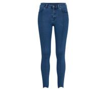 Skinny Jeans 'Ski' blau