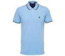 Klassisches Poloshirt hellblau
