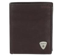 Harrison Geldbörse Leder 9 cm braun