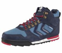 Sneaker 'Nordic Roots Forest' hellblau / dunkelblau