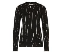Pullover 'Dimma' schwarz / weiß