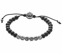 Armband 'dx1088040' schwarz / silber