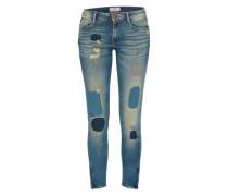 Jeans 'pisc' blau