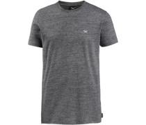 T-Shirt meliert dunkelgrau / graumeliert