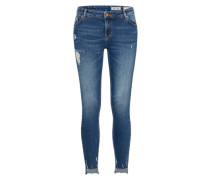 'heavy' Jeans blau