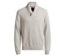 Klassischer Pullover beige