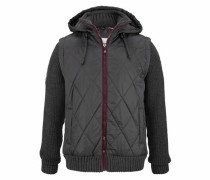 Steppjacke graphit