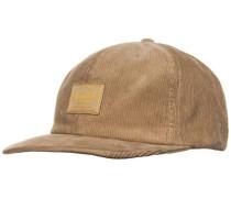 Sylas Strapback Cap beige / hellbraun