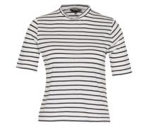 Shirt 'Ariella' schwarz / weiß
