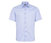 Kurzarm Hemd Modern FIT blau