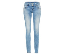 Slim-fit-Jeans 'molly' blue denim