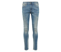 Jeans 'Skim - Green to green' blue denim