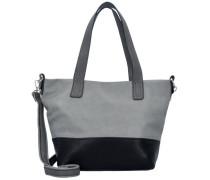 'Carly' Shopper grau / schwarz