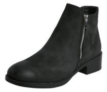 Klassische schwarze Stiefeletten schwarz