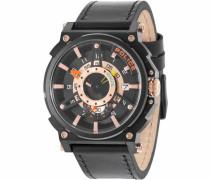 Quarzuhr 'compass Pl15048Jsb.02' gold / schwarz
