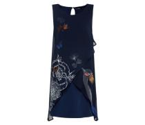 A-Linien-Kleid 'vest_Natan' dunkelblau