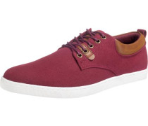 Leichter Canvas Sneaker Sneakers Low rot