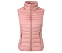 Light Down-Steppweste pink