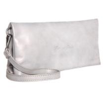 Foldover Bag 'Ronja' silber