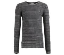 Pullover 'paolo' grau / dunkelgrau