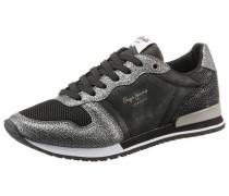 Sneaker 'Gable Top' schwarz / silber