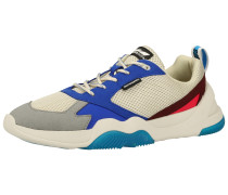 Sneaker blau / taubenblau / beige