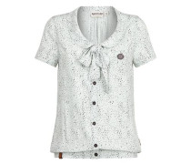 Casual Bluse schwarz / weiß