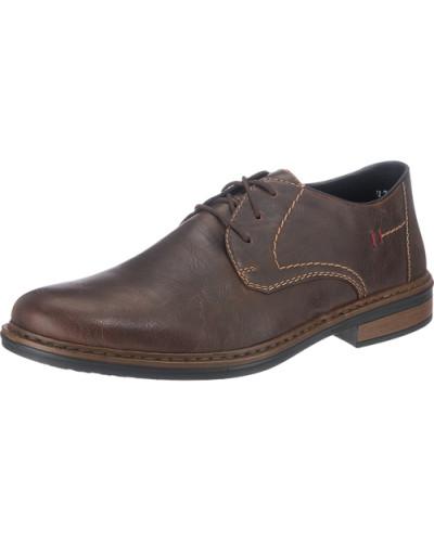 Weite Business Schuhe kastanienbraun