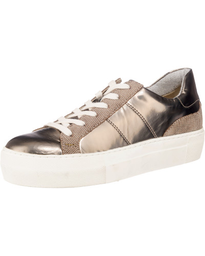 Marc O'Polo Damen Sneakers taupe / silber Offizielle Seite Online Freies Verschiffen Der Niedrige Preis Versandgebühr 04r4qfX