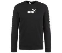 Sweatshirt 'Amplified' schwarz