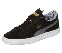 Suede Batman Sneaker schwarz